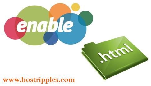 enable HTML files_hostrippels_com